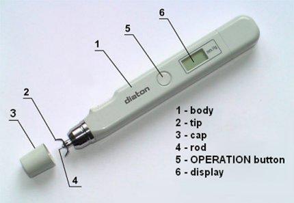 IOP measuring device - tonometer diaton