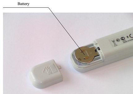 IOP measuring device - tonometer diaton - battery